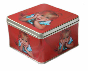 Personalised Photo-Tin - square