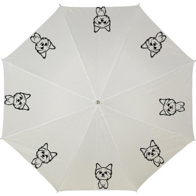 Personalised Umbrella with Yorkie image