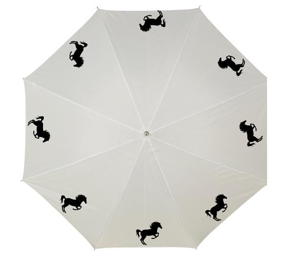 Personalised umbrella with horses