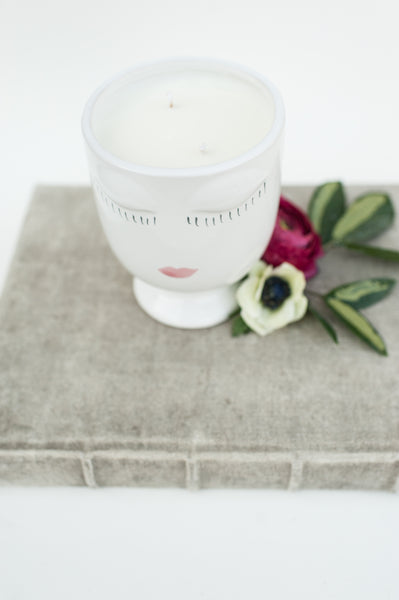 20 oz Soy Candle in Lady Vase
