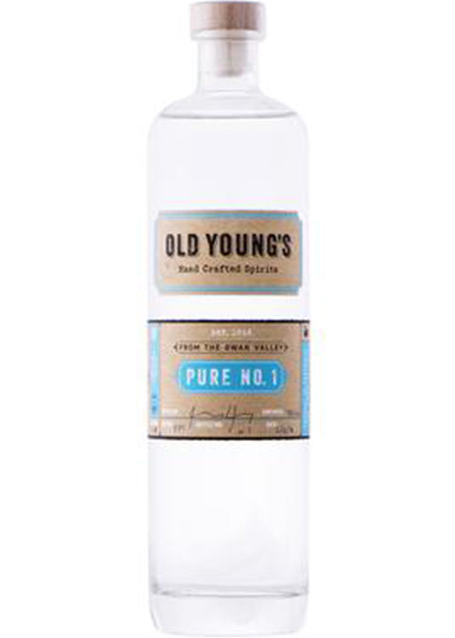 OLD YOUNG'S Pure #1 Vodka (Trophy winner)