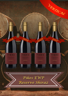 PIKES EWP Shiraz Vertical 4 Pack