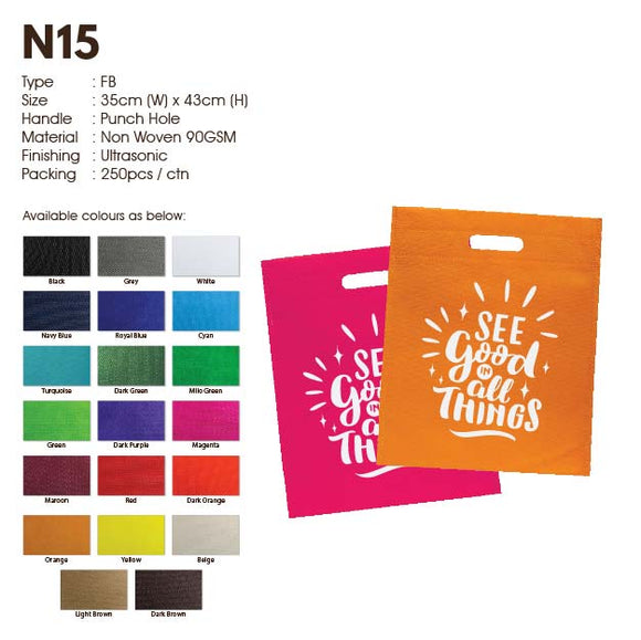 IPN 15 | Non Woven 90gsm | Punch Hole | A3 Size | Ultrasonic | Printing |