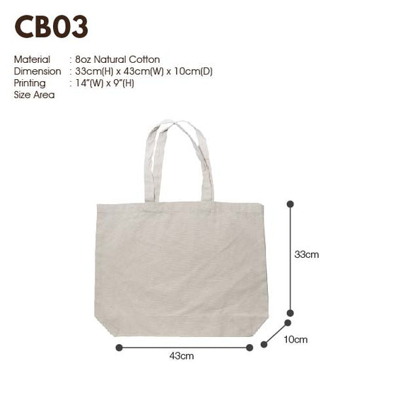 MGCB 03 | Canvas 8oz | Stitch | A3 Size | Plain | - EWC WAWASAN ENTERPRISE