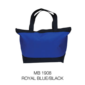 Empty Bag | Ready Stock | 600D | Shopping bag with Zip | A3 Size | - EWC WAWASAN ENTERPRISE