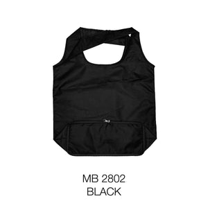MGMB 28 | Nylon | Foldable Bag with Zip  | A3 Size | Plain | - EWC WAWASAN ENTERPRISE