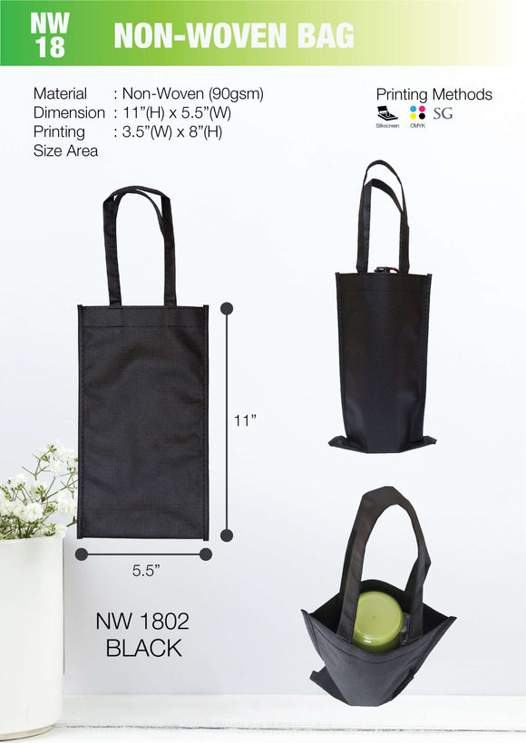 Included Printing | Ready Stock | Non Woven 90gsm | Flat Bag | A4 Size | - EWC WAWASAN ENTERPRISE
