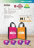 Included Printing | Custom Made | Non Woven 90gsm | Stitch | A4 Size | - EWC WAWASAN ENTERPRISE