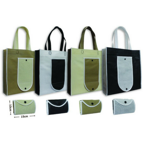 Non Woven Stitch Bag A3 Size 90 gsm with Foldable Pocket