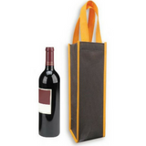 Included Printing | Custom Made | Non Woven 90gsm | Stitch | Wine Bag | Single Bottle | - EWC WAWASAN ENTERPRISE
