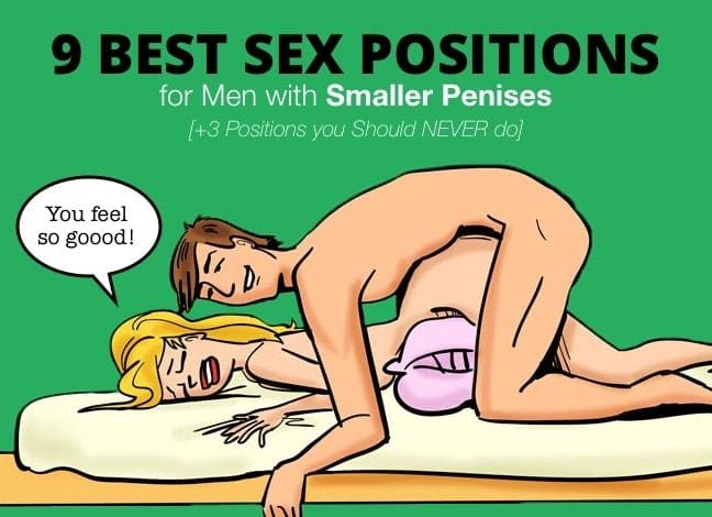 9 Best Sex Positions For Men With Smaller Penises