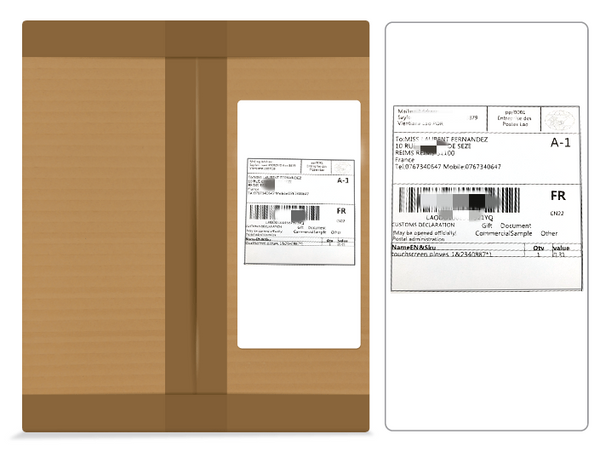 Utimi-Discreet-Packaging-Delivery-Label-Without-Information