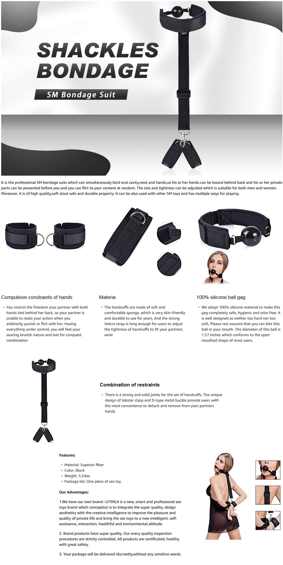 Utimi-Fetish-Bed-Restraint-Kit-with-Hand-Cuffs-Ankle-Bondage-Collection-For-Male-Female
