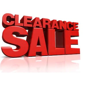 Clearance Sale for Megaman