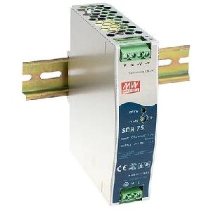 SDR-Single Output Industrial DIN Rail PSU