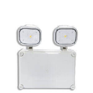 Twin Head Emergency Light