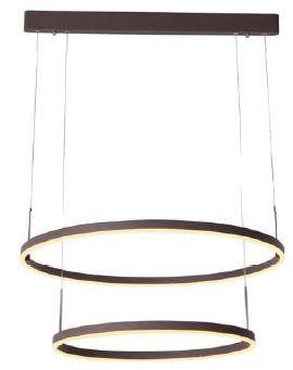 MSV-D1381C 2S SANDY COFFEE MSV-D1381C 2L SANDY COFFEE (Pendant Light)- Delight Singapore