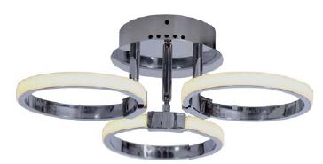 MSV-C1298 3 CHROME (Ceiling Light)- Delight Singapore