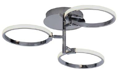 MSV-C1298 3A CHROME (Ceiling Light)- Delight Singapore