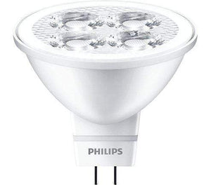 K6P1P2P5 LED Bulb 3W / 2700K PHILIPS Essential LED MR16 Non-Dimmable LED Spotlight Bulb