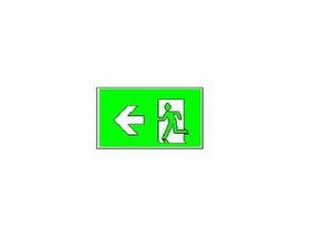SELS EXIT/Emergency Running Man Type L SELS Weather Proof Surface Mounted Exit Sign (SELS-1230-WP) | Delight.com.sg