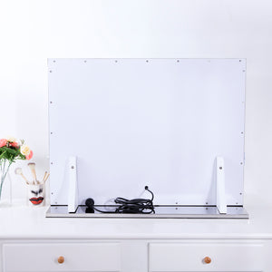 Hollywood Makeup Mirror for Wall, Large Makeup Vanity Mirror with Ligths in Bedroom, Chende