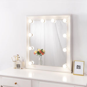 Hollywood LED Vanity Mirror Lights Kit with Dimmable Light Bulb, Chende Bathroom Vanity Light