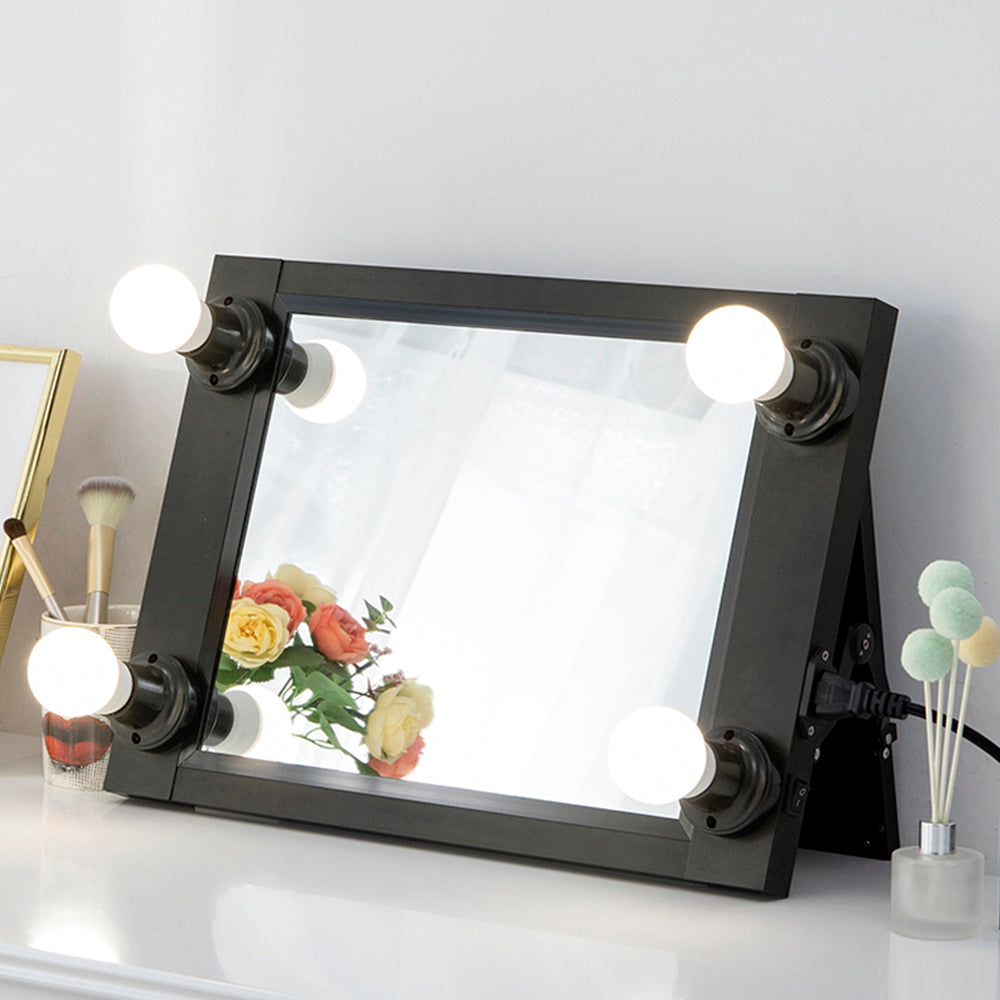 $49.99 Get It!!! Portable Hollywood Makeup Vanity Mirror with Bulbs Chende