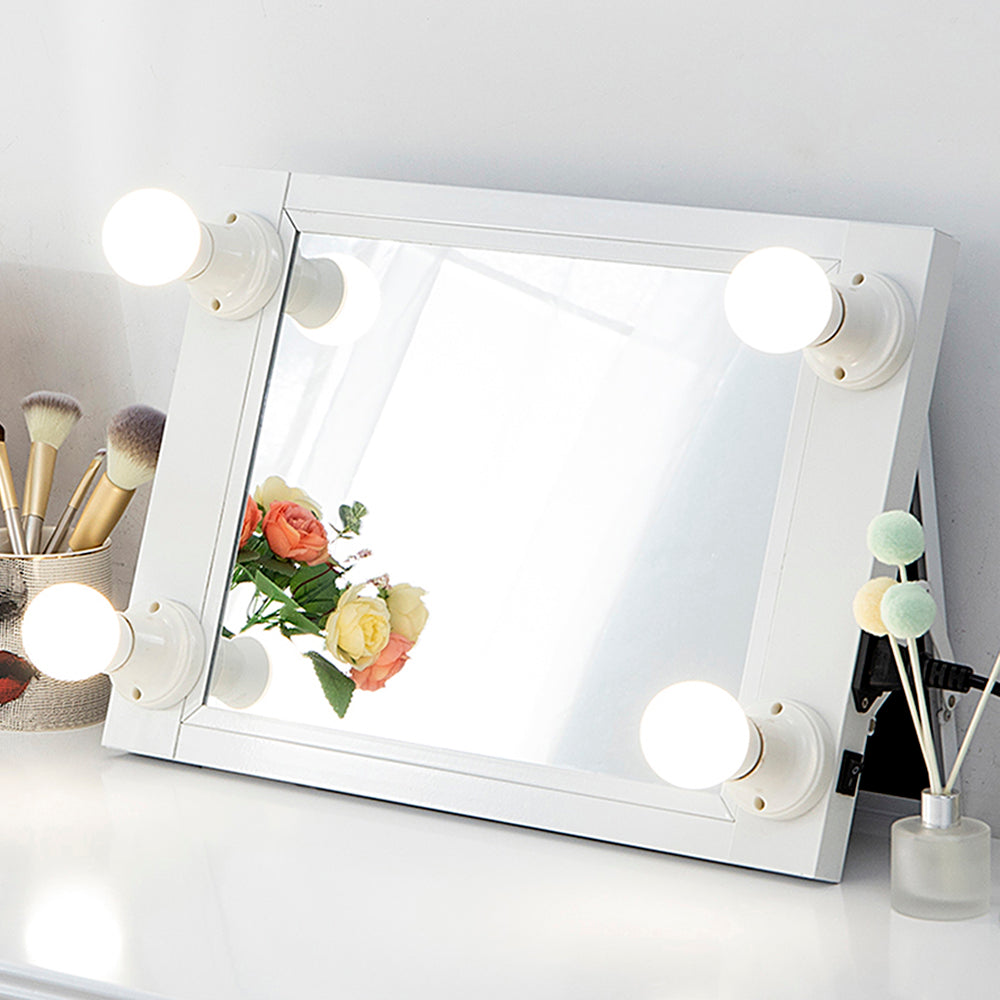 $49.99 Get It!!! Chende Portable Hollywood White Lighted Vanity Mirror
