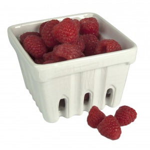 Artland White Ceramic Berry Basket