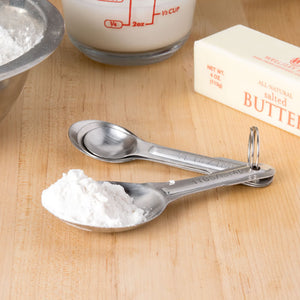 4-Piece Stainless Steel Measuring Spoon
