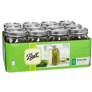 Ball Wide Mouth Quart Jars - 12 Pack