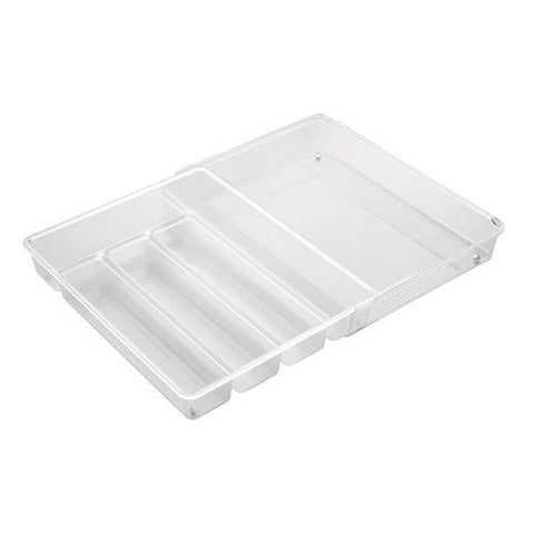 Clear Expandable Cutlery Organizer