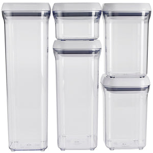 OXO Good Grips POP 5 piece Canister Set