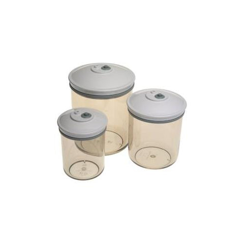 FoodSaver® 3 piece Canister Set