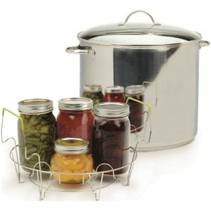 RSVP Endurance Stainless Steel 20 QT Water Bath Canner