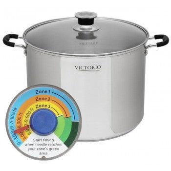 Victorio Stainless Steel Steam Canner and Water Bath Canner