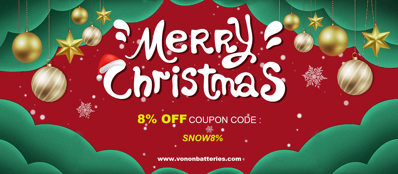 Christmas Promotion | Vanon Battery Store