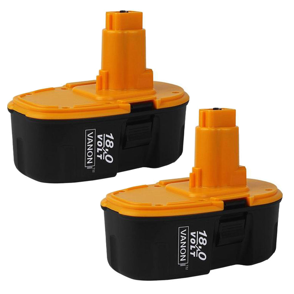 For DeWalt 18V XRP Battery Replacement | DC9099 3.0Ah NI-CD Battery 2 Pack