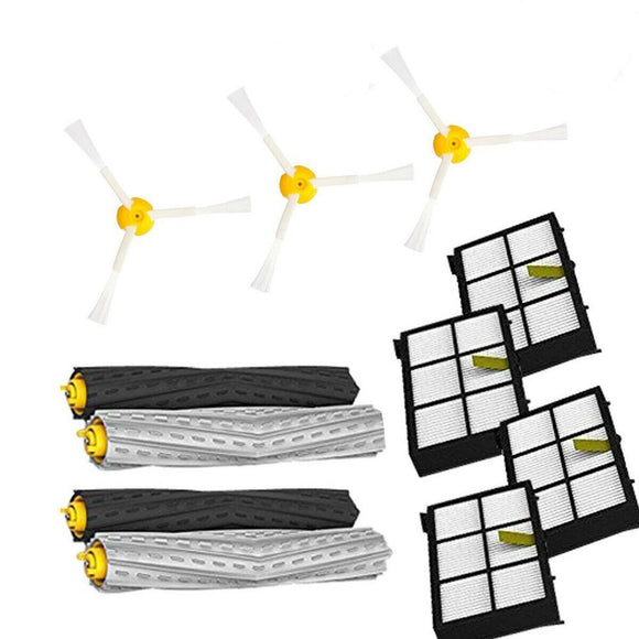 Replacement Part Kit for iRobot Roomba 800/900 Series Vacuum Filter Brush (11PCS )