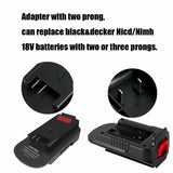 HPA1820 20V to18V Adapter | Convert Black Decker & Stanley & Porter Cable 20V Lithium Battery for Black and Decker 18V Battery