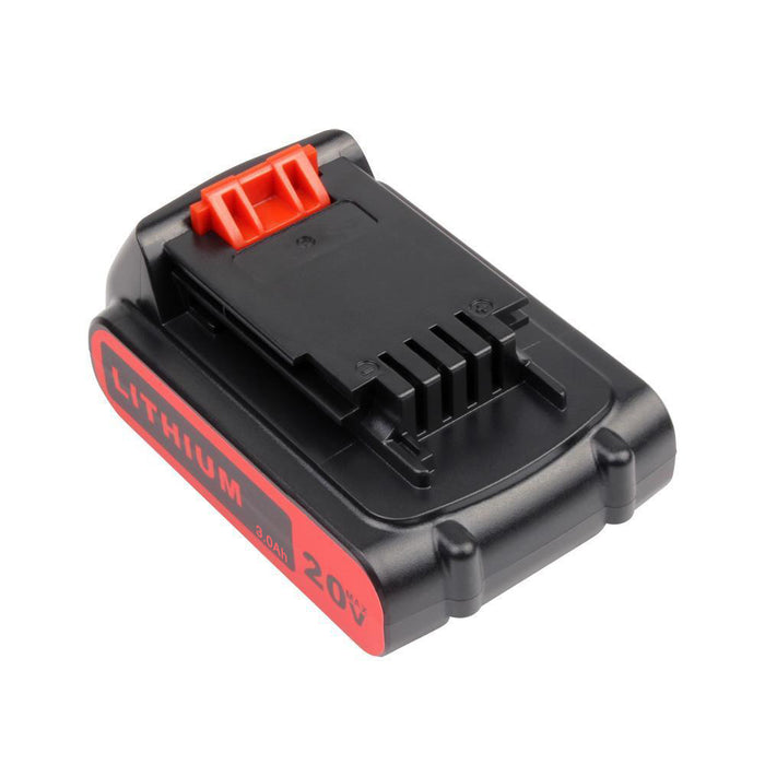 Black and Decker 20V Battery 3.0Ah Replacement | LBXR20 Battery | back