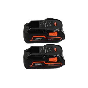 For Ridgid 18V Battery Replacement |  R840085 2.0AH Li-ion Battery 2 Pack