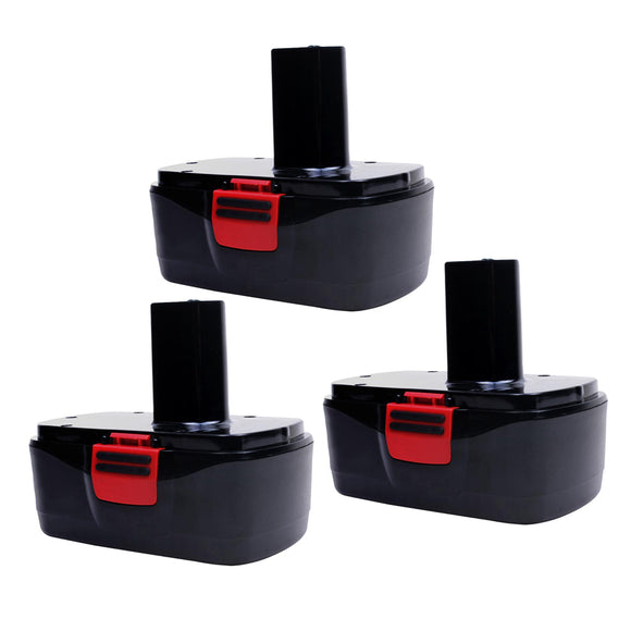 For Craftsman 19.2V Battery Replacement | C3 3.6Ah Ni-MH Battery 3 Pack
