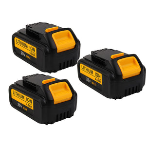 For Dewalt 20V MAX Battery Replacement | DCB200 4.0Ah Li-ion Battery 2 Pack