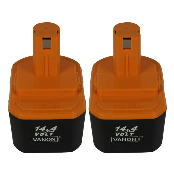 For Ryobi 14.4V Battery Replacement | 130224010 3.0AH NI-CD BATTERY 2 Pack