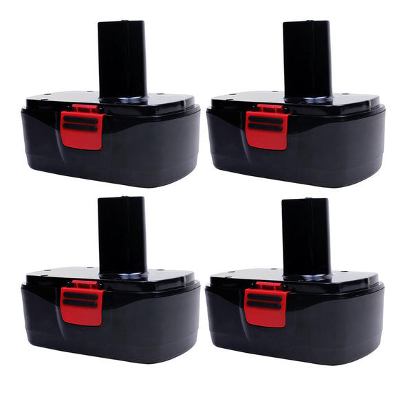 For Craftsman 19.2V Battery Replacement | C3 3.6Ah Ni-MH Battery 4 Pack