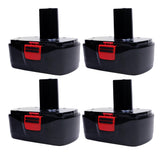 For Craftsman 19.2V Battery Replacement | C3 2.0Ah Ni-MH Battery 4 Pack