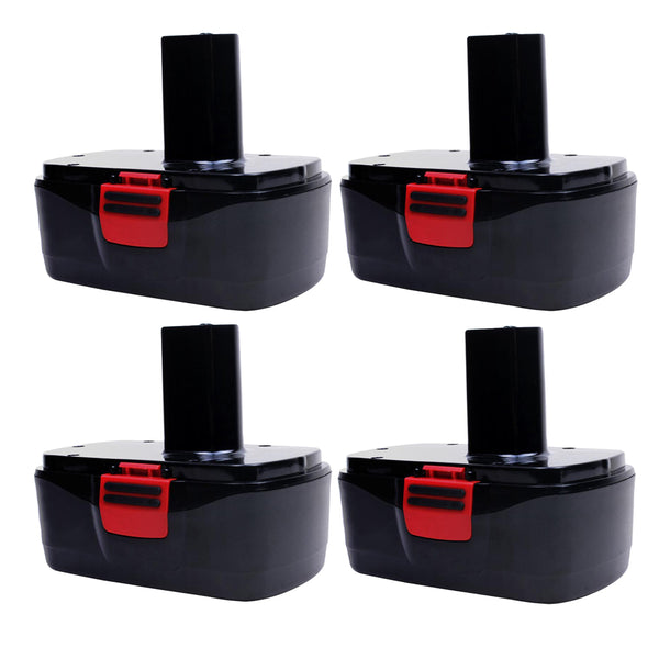 4 Pack For Craftsman 19.2V C3 Battery Replacement | 2.0Ah Ni-CD Battery