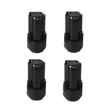 4 Pack For Black and Decker 12V Battery Replacement | LBXR12 2.0Ah Li-ion Battery